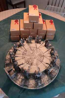 Knights of the Round Table statues full set