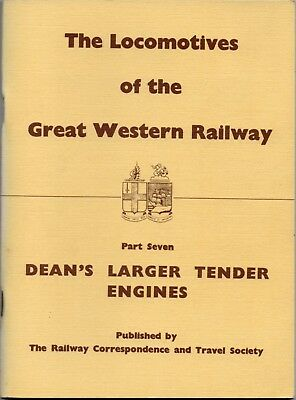 Railway Book - The Locomotives Of The Great Western Railway Part 7.RC&TC.