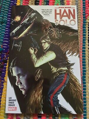 Star Wars: Han Solo comic miniseries by Marjorie Liu and Mark Brooks