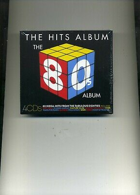 The Hits Album - The 80S Album - Soft Cell Heaven 17 Ub40 Bros - 4 Cds - New!!