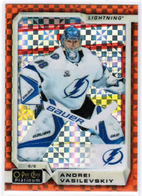 18/19 2018 O-PEE-CHEE PLATINUM HKY ORANGE CHECKERS CARDS 1-150 U-Pick From List