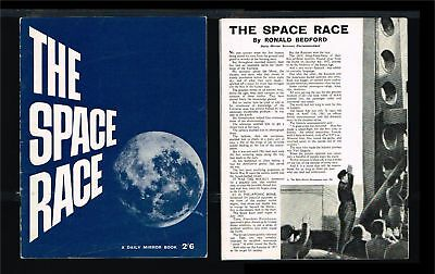 1961 - Great Britain Brochure - Space - Europe - The Space Race - A daily Mirror
