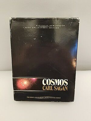 Cosmos Carl Sagan The Complete Collection (DVD, 2002, 7-Disc Set) Pre-owned