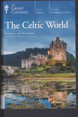 DVD ~ THE CELTIC WORLD by THE GREAT COURSES~24 LECTURES 4 DVDs +BOOK