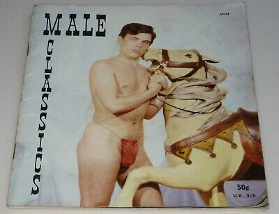 1960's MALE CLASSICS #26 Magazine GAY MALE BODY MUSCLES