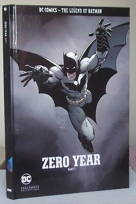 DC Comics THE LEGEND OF BATMAN ZERO YEAR Part 1 Hardback