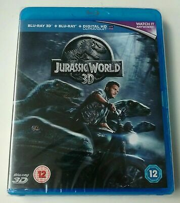 Brand New And Sealed ( Jurassic World - 3D ) +  Blu Ray Action  Film