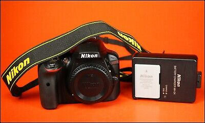 Nikon D3300 24.2MP DSLR Camera,Sold With Battery & Charger & Strap Only 21 Shots