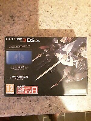 Nintendo 3ds Xl Limited edition Fire Emblem Box Only With Manuals And Inserts