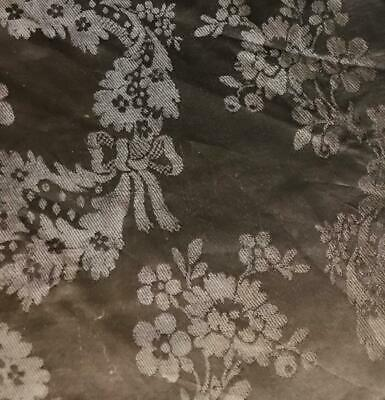 74cm BEAUTIFUL LATE 18th/ EARLY 19th CENTURY FRENCH PURE SILK DAMASK, 252.
