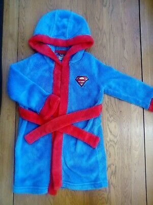 Boys age 12-18 months dressing gown robe SUPERMAN/SUPERBABY