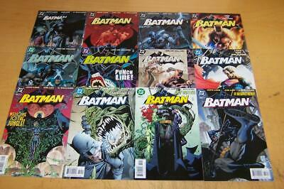 Dc Comics Batman 608-619 Jim Lee Jeph Loeb Hush Joker Harley Quinn 2002/03