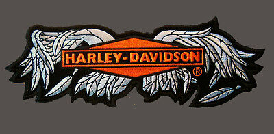 HARLEY DAVIDSON RARE BROKEN WING PATCH (LARGE) PATCH 9.0 inch