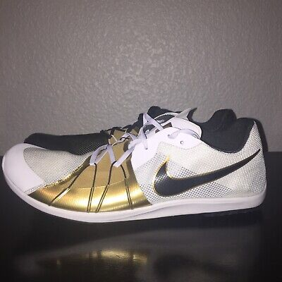 94c03443ce59 Nike Zoom Forever XC 5 Cross-Country Spikes Gold Medal 904723-071 Mens Size