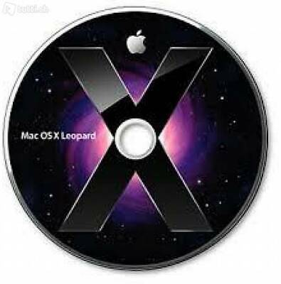 Mac OS X 10.5 Leopard - Instant Delivery DOWNLOAD iso