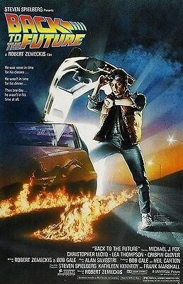 Back To The Future poster  : Michael J. Fox poster : 11 x 17 inches