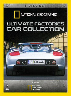 Ultimate Factories Car Collection (5-Disc Set) (National Geographic) (Boxs (Dvd)