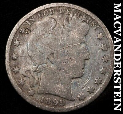 1899 Barber Half Dollar - Scarce!!  Better Date!!  #b21