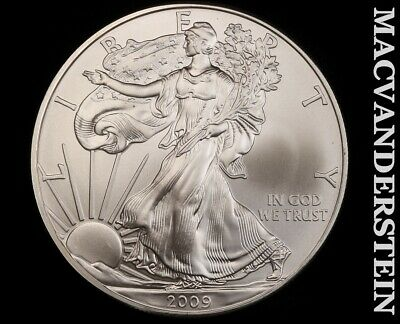 2009 American Silver Eagle 1 Ounce-Ch Gem Brilliant Unc!! No Reserve!! #f3438
