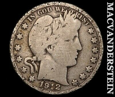 1912-D Barber Half Dollar-Scarce Better Date!!  #e2997