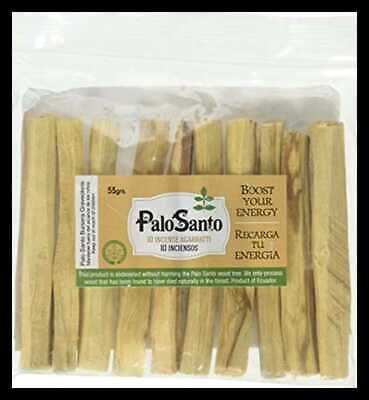 Premium Certified Authentic Ecuadorian Kiln Dried Palo Santo Holy Wood Incense S