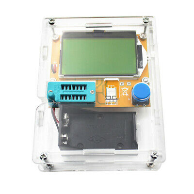 All-in-1 LCR Component Tester TransistorDiode Capacitance ESR Meter Inductanc AS