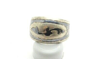 Post Medieval period 875 Silver ring 18 Century
