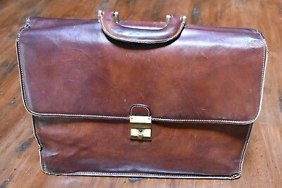 Borsa in pelle da uomo vintage leather bag for man