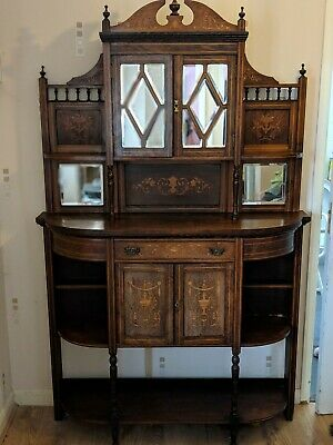 An Edwardian1900-1910 Mahogany Rosewood Chiffonier over 100yrs old PICK UP ONLY