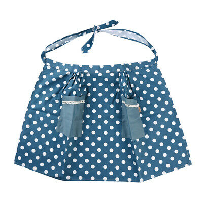 Short Apron Half-length With 2 Pocket Bistro Bar Cafe Waitress Catering CB