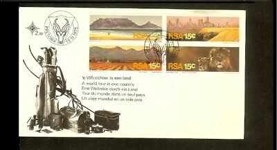 1975 - South Africa FDC - Geography - Landscapes [BH002]