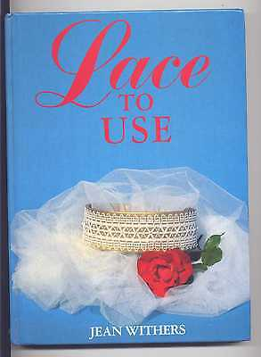 Lace To Use Book Jean Withers