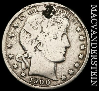 1900 Barber Half Dollar - Scarce!!  Better Date!!  #e25