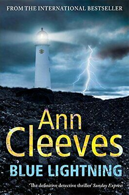 Blue Lightning (Shetland) by Cleeves, Ann Paperback Book The Cheap Fast Free