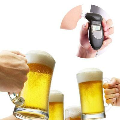 Digital Alcohol Breath Tester Analyzer Detector With Keychain N4U8