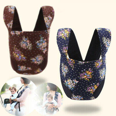 New Newborn Baby Carrier Breathable Ergonomic Adjustable Wrap Sling Backpack USA