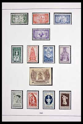 Lot 29911 Collection stamps of Luxembourg 1945-2017.