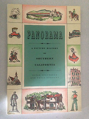 "1953 ""Panorama"" A Picture History of Southern California Booklet"