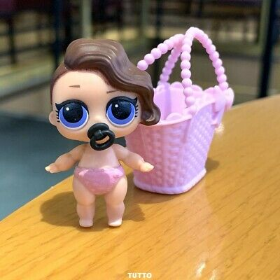 LOL Surprise LiL Sisters L.O.L. POSH doll toy SERIES 2 COLOR CHANGE With bag