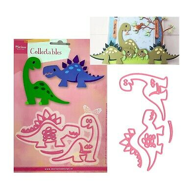 Dinosaur Metal Die Cut Set Eline's Marianne Cutting Dies COL1400 Animals Dino