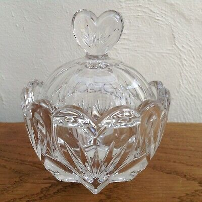 NEW Boxed Waterford Crystal Sweet Memories Covered Bonbon Dish [Marquis Bowl]
