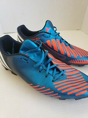 434c76fc40a Adidas Predator Predito LZ TRX Indoor Soccer Shoes Men s US Size 13 Blue