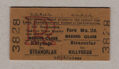 County Donegal Railways Ticket Ireland / Fahrkarte (395)