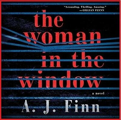 The Woman in the Window a Novel by A. J. Finn (audiobook, e-Delivery)