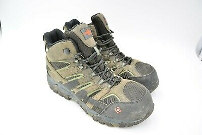 b5bf01d7578 MERRELL MEN'S MOAB 2 Mid Waterproof Hiking Boot Castle Size US 9.5 ...