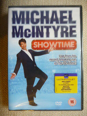 Michael Mcintyre - Showtime (DVD, 2012) Brand New & Sealed! 1st Class Post