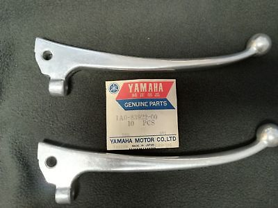 2 x NOS, Yamaha RD250 RD400 Front Brake Lever GENUINE 1A0-83922-00 C and D model