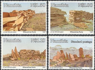 Namibia 1997 Ancient Ruins/Fortress/Buildings/History/Heritage 4v set (n16723a)