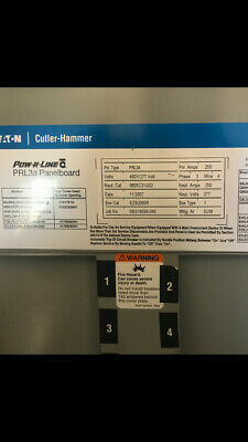 cutler hammer prl3a 200 amp main lug w asco 200 amp r c switchcutler hammer power line c circuit breaker panel 250 amp with breakers prl3a
