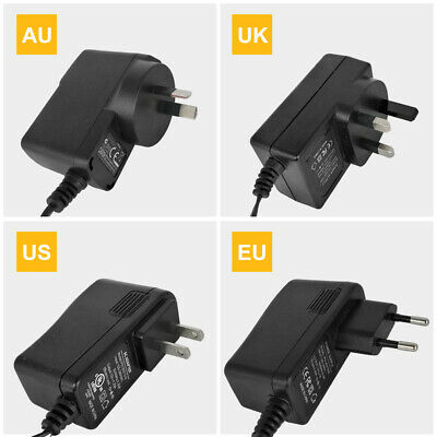 Switching Power Supply AC 100-240V to DC 12V 2A Converter Adapter UK Plug Mains